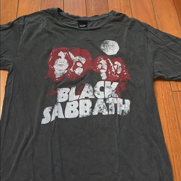 Black sabbath tshirt by day. Sold at Nordstrom